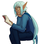 iAV - Sven n books sittin in a tree  R E A D I N G by Ascott-wongle