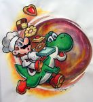 Yoshi's Cookie by clouded-ambition