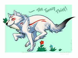 I'm gonna steal all your turnips!! by DOLFIY