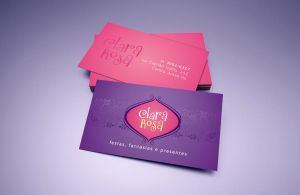 Clara Rosa logo and business card by tutom