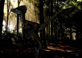 Collaboration: Bambiraptor by Smnt2000