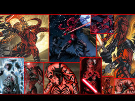 Darth Talon Wallpaper by Thimburd