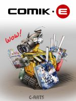 WALL-E and COMIKE by Maguta