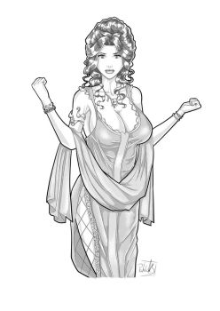 Roman Woman by PatrickS-Artist