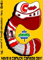 C is for Canuck Canada Day! by tony-p-power