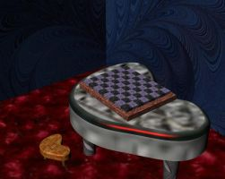 80's chess room by bogey95451