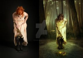 Lost Fairy Tale Before After by Kryseis-Art