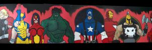 Avengers Board by justinbysma