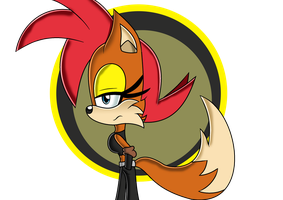 Fiona Fox Sonic Adventure by 1XxAcexX1