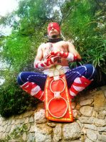 Lee sin Cosplay grupo League of Legends Chile by RosseSinner