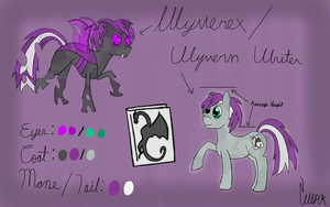 Wyvern Writer Reference Sheet 2.0 by WolfTheWyvern