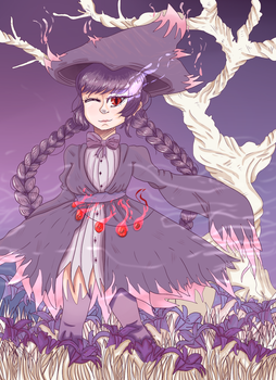 [CE] Queen of Ghosts by Camy-Kun