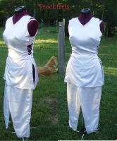 White tunic by FrockTarts