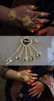 East India Bollywood Steampunk LED Slave Bracelet by Arsenal-Best