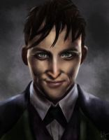 Oswald Cobblepot by superpsyduck
