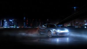 Toyota Supra by GandCphotography