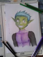 Beast Boy - Teen Titans by Amer97