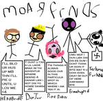 Moar Frnds by WooftheEpic
