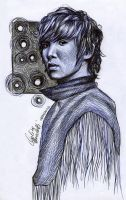 Lee Joon Ballpoint Pen by AngelinaBenedetti