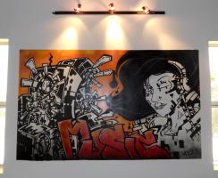 Music Mural by MarcosMachina