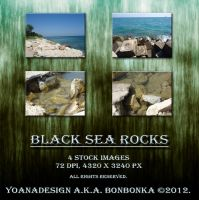 Black Sea Rocks by bonbonka