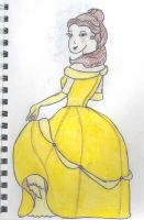 Classic Belle by evilredcaboose