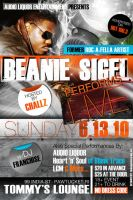 Beanie Sigel Flyer by AnotherBcreation
