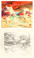 Mushroom Time - compare by Valnor
