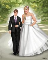 Wedding couple by Eves-Rib