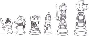 Chess Pieces EXE by RaijinKarate