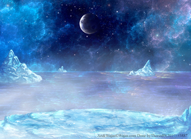 Icy Night Wajas Wallpaper by ThorinFrostclaw