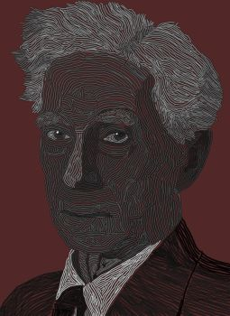 Bertrand Russell by drewjn