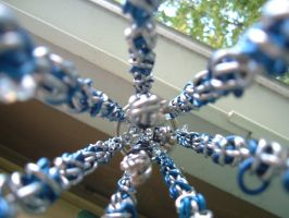 Blue Tentacles are comin at ya by chainmaille