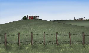 Cartoon Countryside by stopsigndrawer81