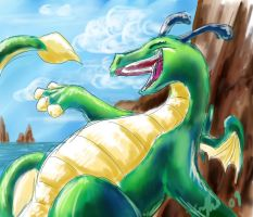 The Reluctant Dragon by SilverFlight