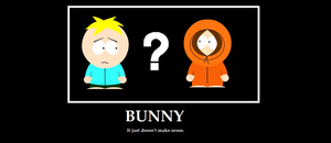 South Park bunny poster by splover22
