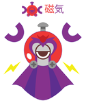 Magneto Magnemite ::COMM:: by Itachi-Roxas