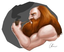 Dwarvish Pipe by Some1Silly