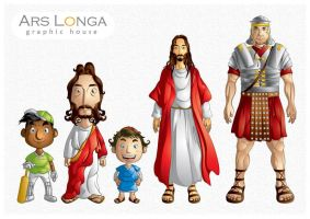 JESUS character design by ud120182