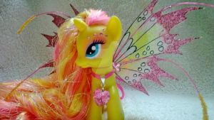G4 My Little Pony Butterfly Kisses by heatherwendling