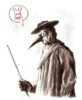 Plague Doctor by LinaLightning