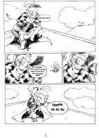 Dissidia Comic pg 1 by MystressCrowler