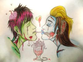 ZOMBIE LOVE by alamcete