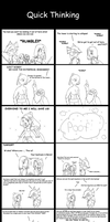 FF4 - Quick Thinking by solidfalcon