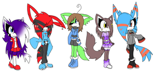 Adoptables 4 +OPEN+ by BlueGreenMagic