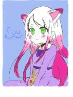 Ruu the bunny lover by NerdFunction