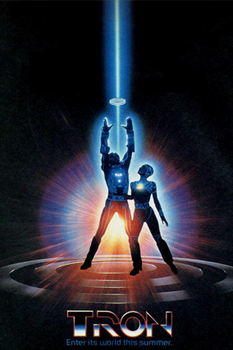 Tron Poster iPhone by gameover89