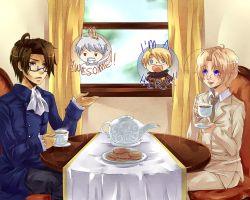 APH - Tea Time by Hetalia-Canada-DJ