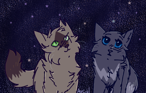 The stars are lovely by ArualMeow