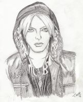 Hyde Sketch by comicalclare